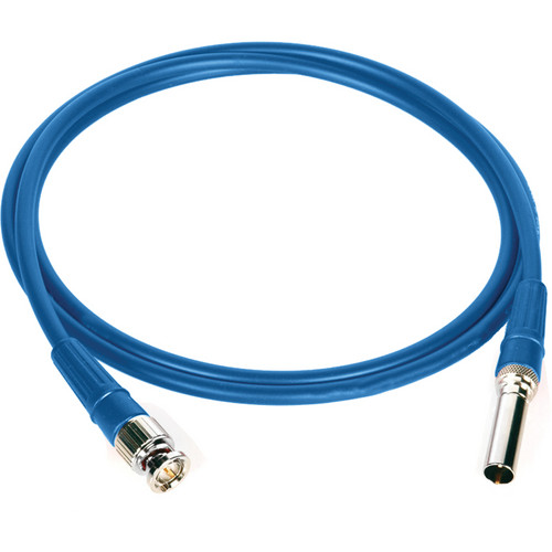 "Canare 24"" L-4CFB Digital Video Patch Plug to BNC Patch Bay Cable (Blue)"
