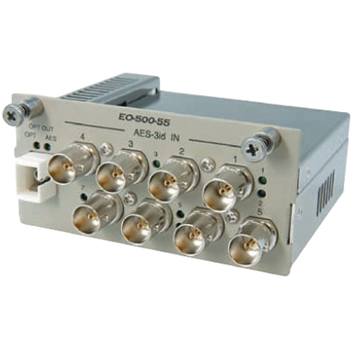 Canare EO-500-59 AES-3id Electrical to Optical Converter