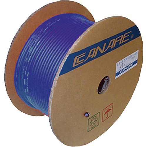 Canare L-3C2VS 200M BLU Video Coaxial Cable (656' / 200 m)