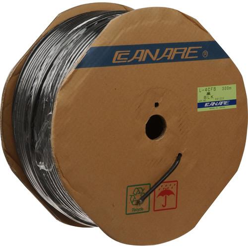 Canare L-4CFB RG59 HD-SDI Coaxial Cable (984', Black)