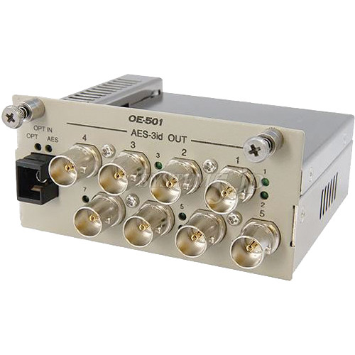 Canare OE-501 AES-3id Optical to Electric Converter
