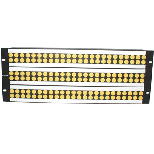Canare VJ2-E24-4U Unloaded Patch Panel for DVJA Series Jacks