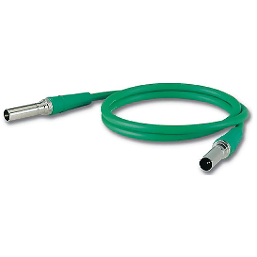 Canare VPC001F Standard Size Video Patch Cord (1', Green)