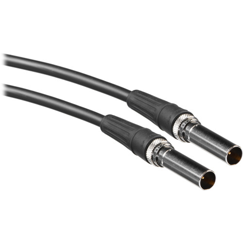 Canare Video Patch Cable - 6 ft (Black)