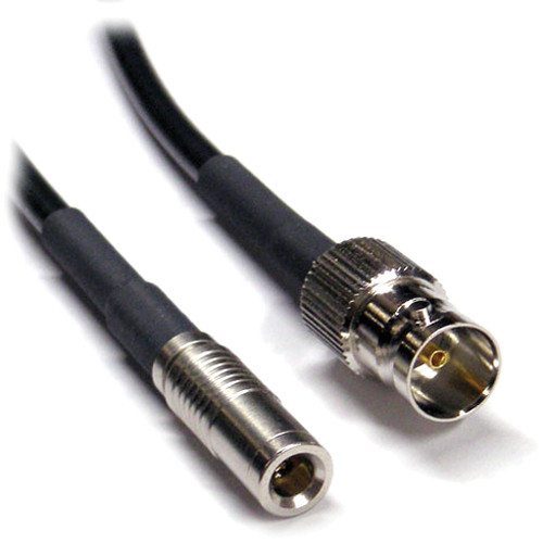 Canare L-2.5CHD 3G HD/SDI Cable with 1.0/2.3 DIN to BNC Female Connectors (3')