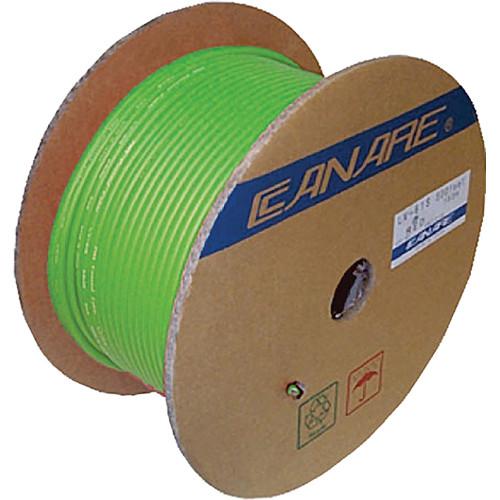 Canare L-4E6S Star Quad Microphone Cable (656', Green)