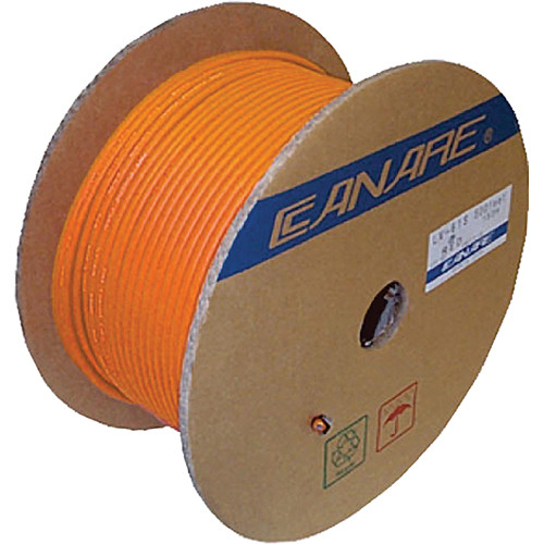 Canare L-4E6S Star Quad Microphone Cable (656', Orange)