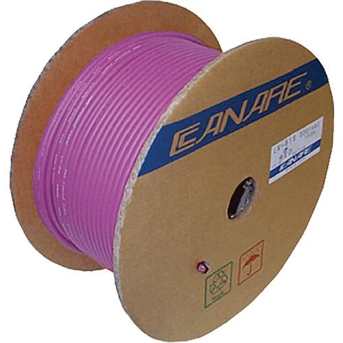 Canare L-4E6S Star Quad Microphone Cable (656', Purple)