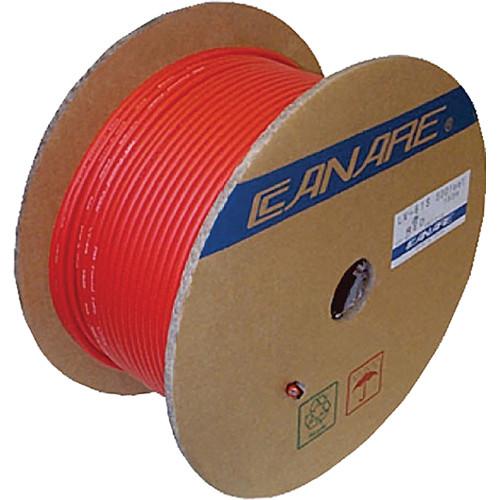 Canare L-4E6S Star Quad Microphone Cable (656', Red)