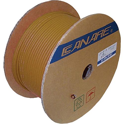 Canare L-4E6S Star Quad Microphone Cable (1000', Brown)