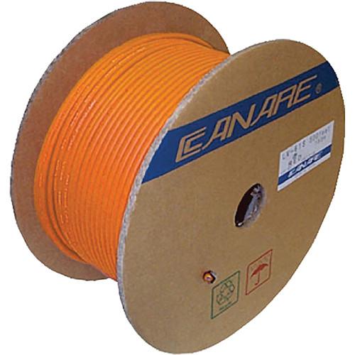 Canare L-4E6S Star Quad Microphone Cable (1000', Orange)