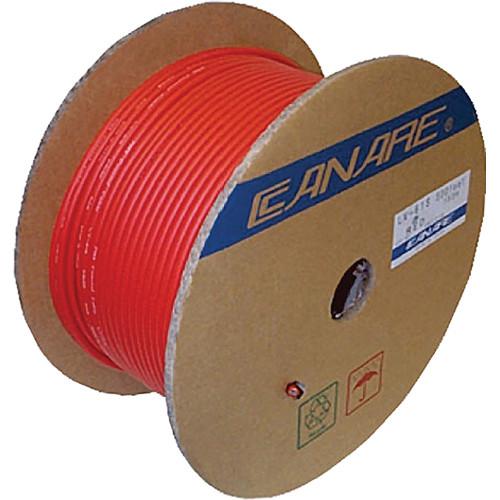 Canare L-4E6S Star Quad Microphone Cable (1000', Red)
