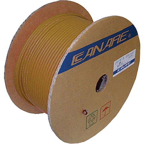 Canare LV-61S Video Coaxial Cable (500' / Brown)