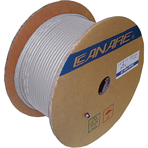 Canare LV-61S Video Coaxial Cable (500' / White)
