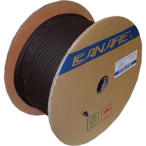Canare LV-77S Video Coaxial Cable (500' / 152.4 m, Black)