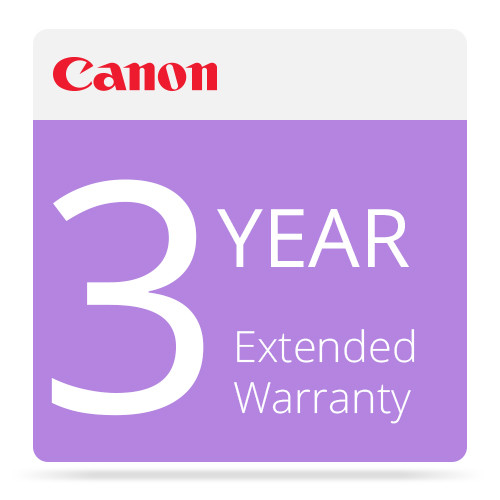 Canon 3-Year Extended Warranty