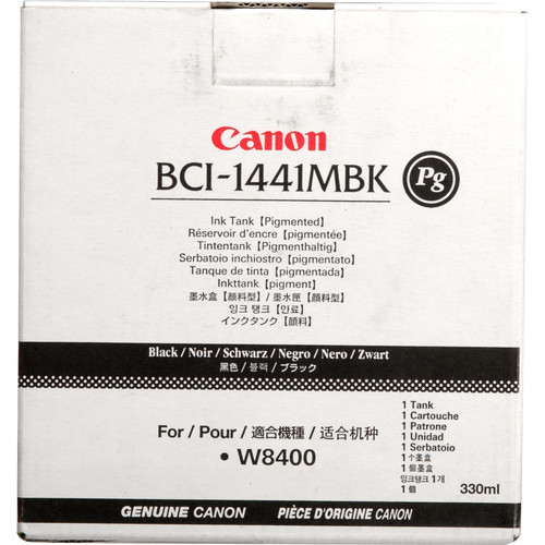 Canon BCI-1441MBK PG Matte Black Ink Tank (330ml)