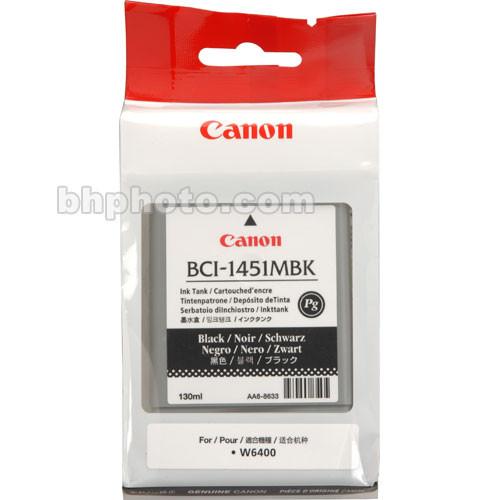 Canon BCI-1451MBK Matte Black Ink Tank (130ml)