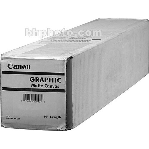 """Canon Graphic Matte Canvas (36""""x40')"""
