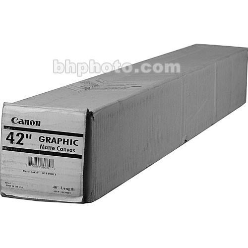 """Canon Graphic Matte Canvas (42""""x40')"""