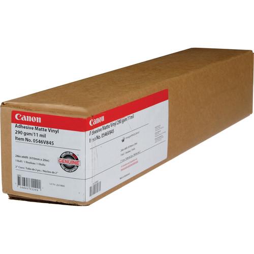 """Canon Adhesive Matte Vinyl for Inkjet - 24""""x60' Roll"""