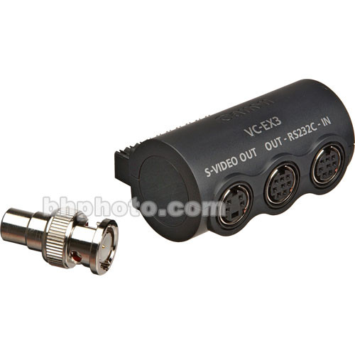 Canon VC-EX3 Surveillance Camera Interface S-Video & RS-232 Serial Adapter
