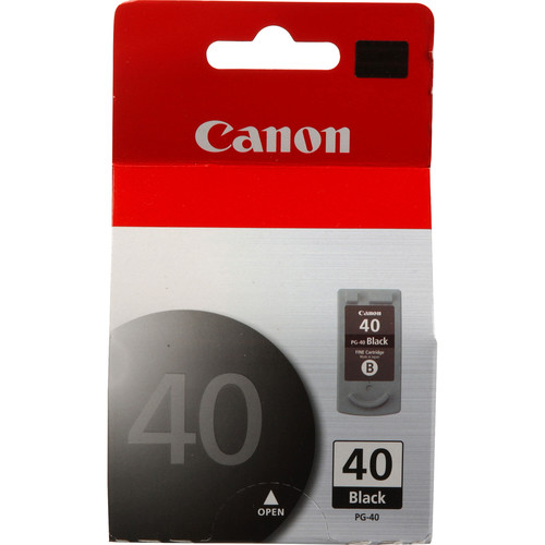 canon pg 40 black ink cartridge 0615b002 b h photo video. Black Bedroom Furniture Sets. Home Design Ideas