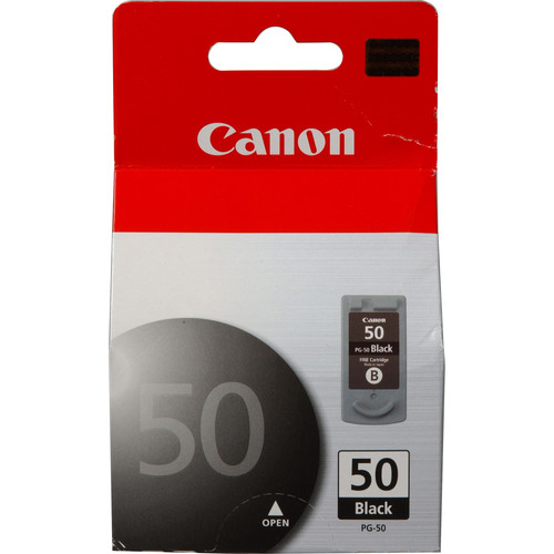 Canon PG-50 High Capacity Black Ink Cartridge