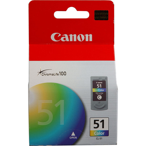 Canon CL-51 High-Capacity Color Ink Cartridge