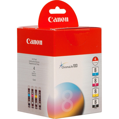 Canon CLI-8 Ink Tank 4-Pack