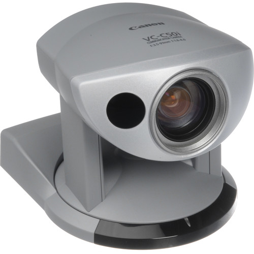 Canon VC-C50i 1/4-Inch CCD Communication Camera with Infrared, Pan, Tilt, and Zoom, and RS-232C Control