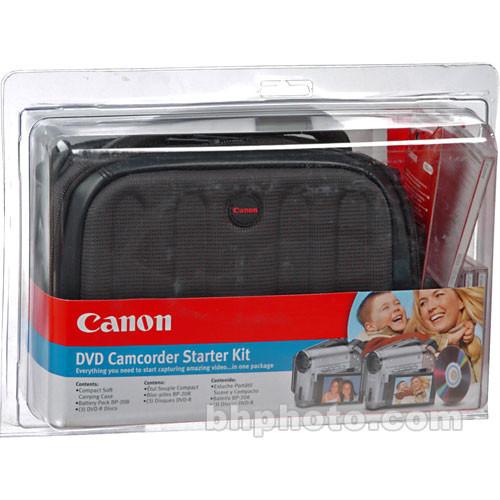 Canon DVD Camcorder Starter Kit