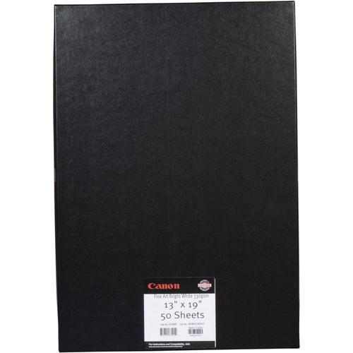"Canon Fine Art Natural White Paper (Matte, 230 gsm) - 13x19"" - 50 Sheets"