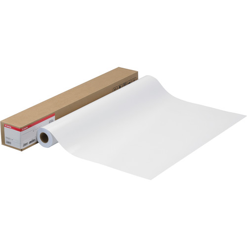 "Canon Fine Art Bright White Paper (Matte, 230gsm) for Inkjet - 17"" x 50' Roll"