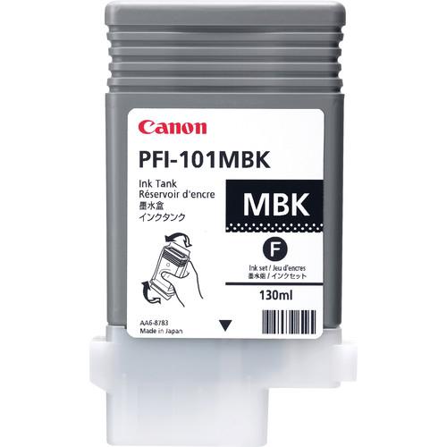 Canon PFI-101MBK Matte Black Ink Tank for Canon iPF5000 Printer