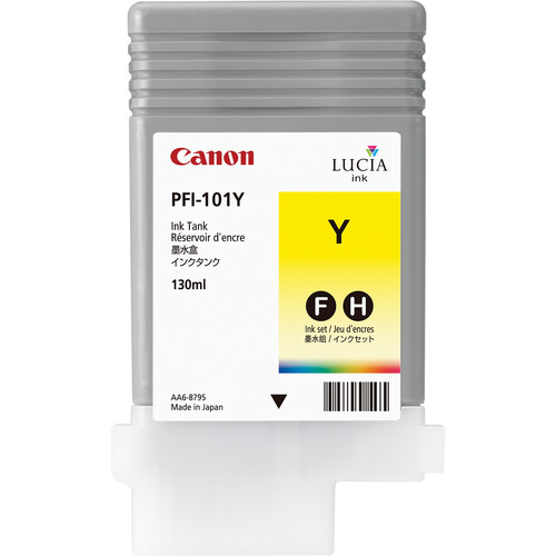 Canon PFI-101Y Yellow Ink Tank (130 ml)