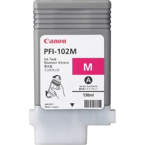 Canon PFI-102M Magenta Ink Tank (130 ml)