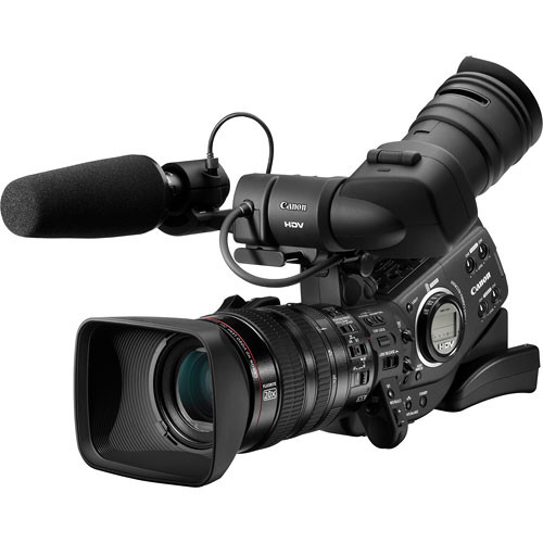 Canon XL-H1 3-CCD High Definition Camcorder