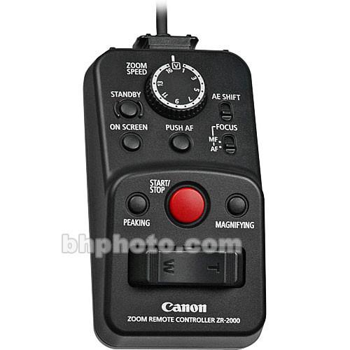 Canon ZR-2000 Zoom Remote Control