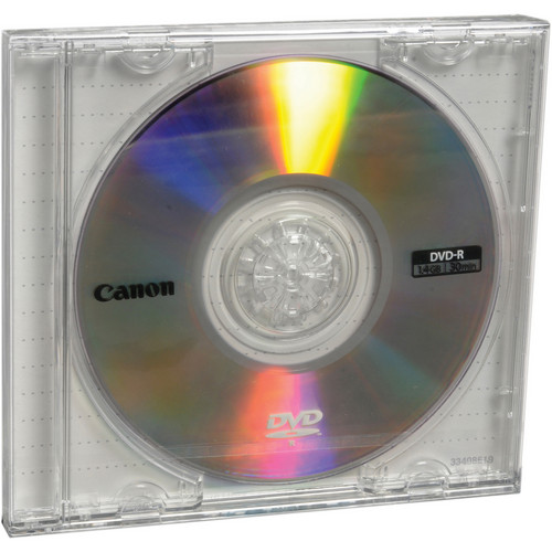 Canon Mini DVD-R 1.4GB (10-Pack Jewel Case)