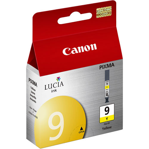 Canon LUCIA PGI-9 Yellow Ink Tank