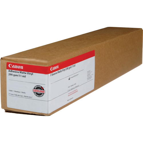 "Canon Adhesive Matte Vinyl - 60"" Wide Roll - 66'"