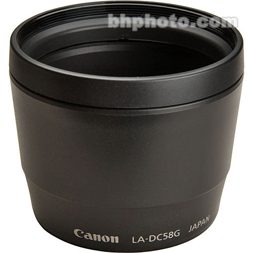 Canon LA-DC58G Lens Adapter