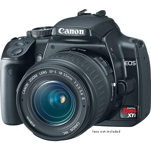 Canon EOS Digital Rebel XTi (a.k.a. 400D) 10.1 Megapixel, SLR, Digital Camera Body (Black)