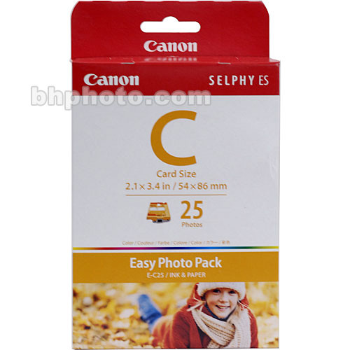 Canon EC-25 Card Size Easy Photo Pack