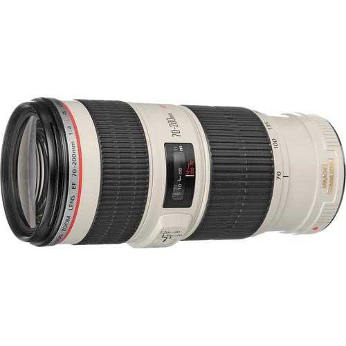 Canon EF 70-200mm f/4L IS USM Lens