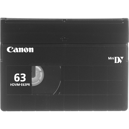 Canon HDVM-E63PR DigitalMaster HDV Cassette (63 Minutes)