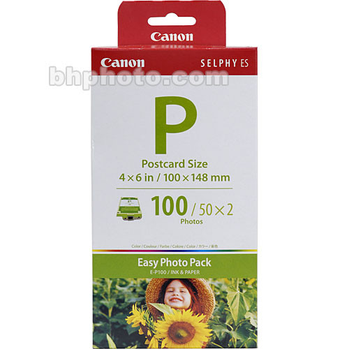 Canon EP-100 Postcard Size Easy Photo Pack