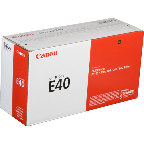 Canon E40 Black Toner Cartridge