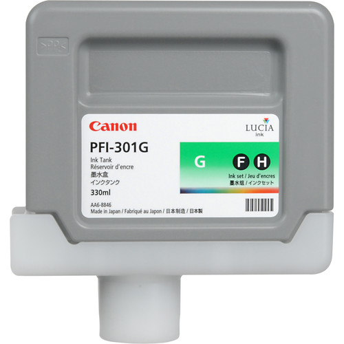 Canon PFI-301G Green Ink Tank (330 ml)